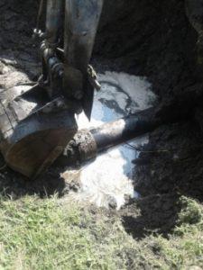 Аварийный участок трубы на улице Наримановской в Новозыбкове заменят